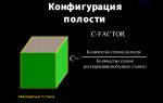 C-фактор (Cavity factor).